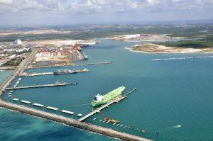 Fotos das obras do Pier Petroleiro de Suape (PE)