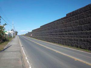 Solução Terramesh aplicada em rodovia (foto: Maccaferri).