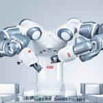 Robô YuMi da ABB (foto: divulgação).