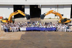 BMC-Hyundai comemora primeira exportação para AL (foto: divulgação).