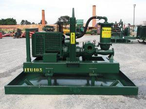 Equipamento ITU44S10 da Itubombas, também utilizado em operações de esgotamento de água em cavas de mineradoras (foto: divulgação).
