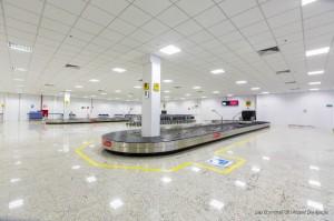 Terminal 2 de desembarque de passageiros do Aeroporto de Confis (foto: divulgação).