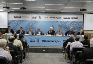Workshop na Fiesp sobre desafios para a ampliação da cobertura celular (foto: Helcio Nagamine/Fiesp).