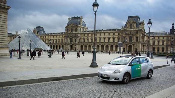 Carro compartilhado em Paris