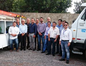 Gestores da Diretoria de Distribuição visitam o Centro de Serviços da Contratada em Iporá