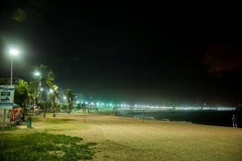 Orla de Camburi, em Vitória. Foto: Diego Alves.