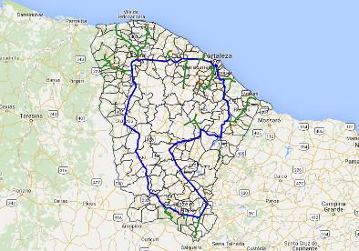 Cinturão Digital, projeto do estado, já tem 3,4 mil km de rede óptica.