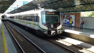 Metro de Medellin, na Colômbia: Ineco participa da entrega de trens.