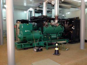 usina emprega dois grupos geradores e começou a ser instalada em 2015