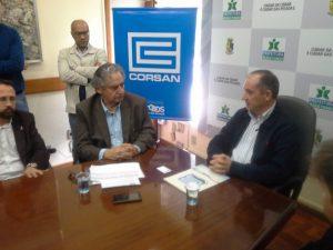 Passo Fundo assina contrato de obras de esgotos / Foto: João Paulo Flores