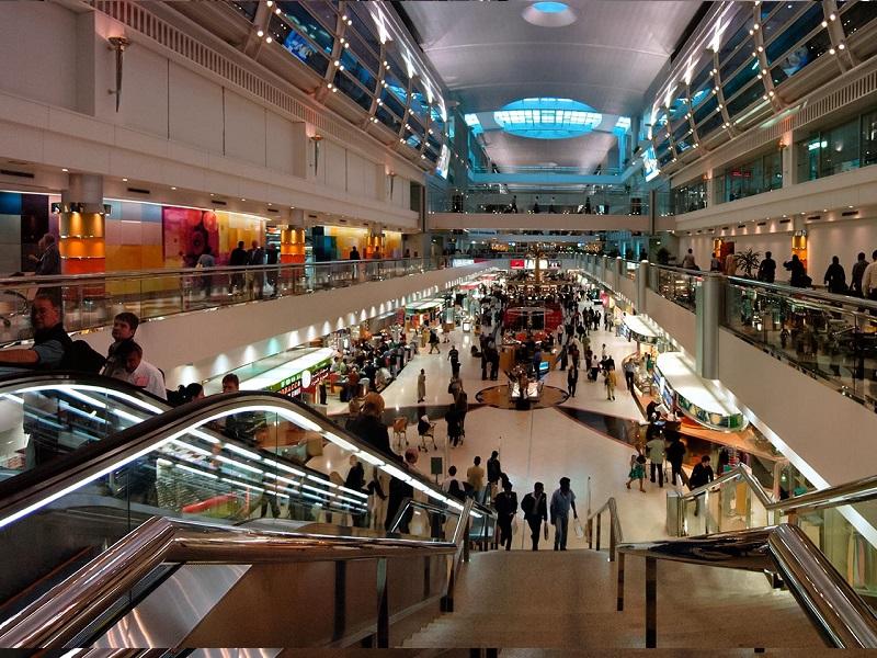 Aeroporto de Dubai recebe 230 mil passageiros por ano.