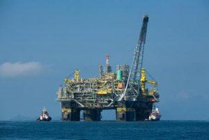 Plataforma de petroleo da Petrobras
