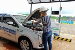 Frota de 80 veículos já é movida a biometano, inclusive de esgoto